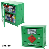 Flammable Aerosol Can Cabinet- 60 Can